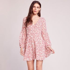 NWT BB Dakota Sunday Brunch Printed Dress
